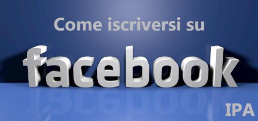 Come iscriversi su Facebook IPA