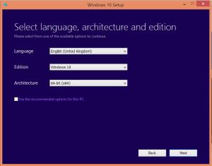 select language edition