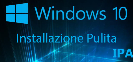 windows 10 installazione pulita ipa