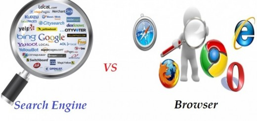 browser vs search engine