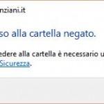 """""""Accesso negato"""" quando si cerca di aprire un file o una cartella su Windows"""