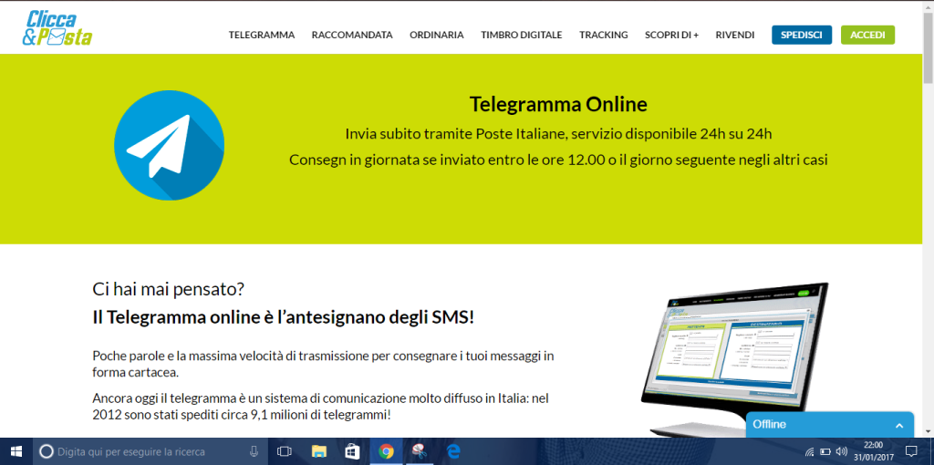 Telegramma online 4