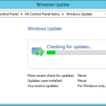 Windows Update su Windows 8.1 ricerca all'infinito gli aggiornamenti