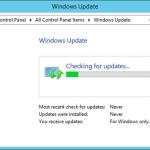 Windows Update su Windows 8.1 ricerca all'infinito gli aggiornamenti