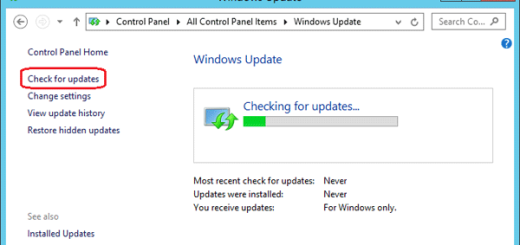 windows 8.1 checking updates