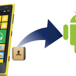 Come trasferire i contatti della rubrica da Windows Phone ad Android