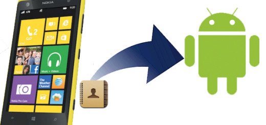 windows phone contatti android