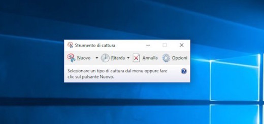 Strumento di cattura Windows 10