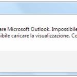 """""""Impossibile avviare Microsoft Outlook. Codice XML non valido"""": come risolvere l'errore con un comando """"miracoloso"""""""