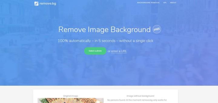 homepage remove.bg