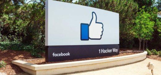 facebook design tema scuro