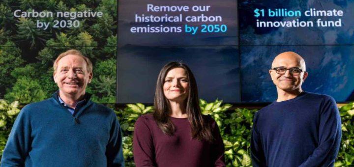 microsoft carbonio 2050