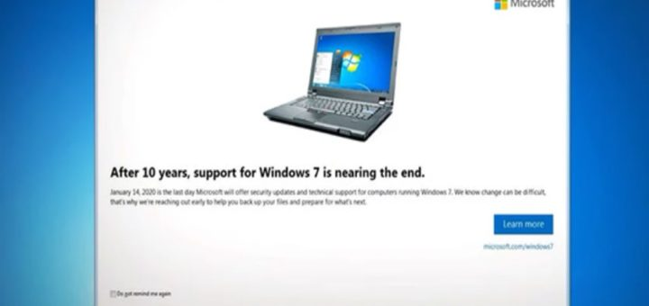 windows 7 aggiornamento