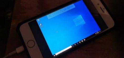 windows 10 iPhone utm