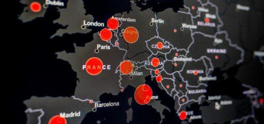 mappa coronavirus malware