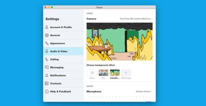 skype zoom sfondi personalizzati