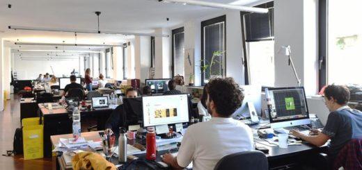 ufficio smart working rumori