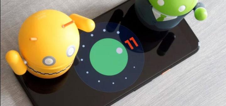 android 11 iconografia 5G