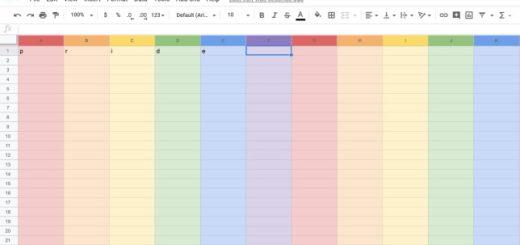 google sheets easter egg pride month