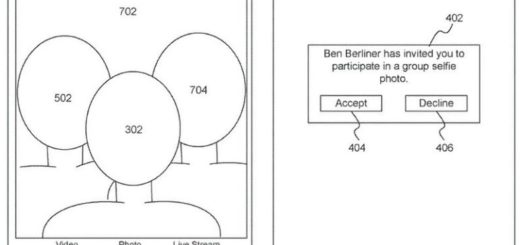 apple selfie di gruppo software
