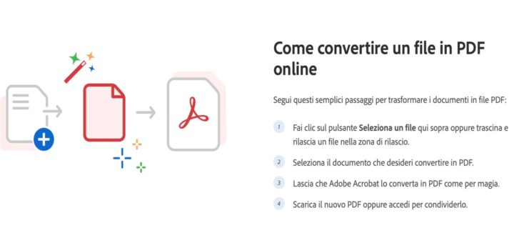 pdf conversione