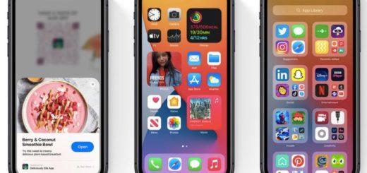 apple iphone widget