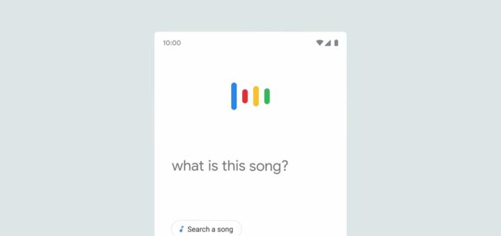 google search trovare canzone cantando