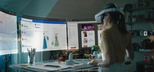 ufficio realtà aumentata visori