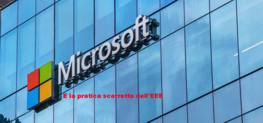 Microsoft e l'EEE